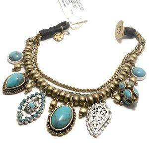 🆕Lucky Brand Two Tone Charm Bracelet